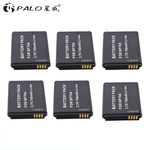 Image 2 - PALO 6X BP 70A BP 70A BP70A Recarregável Bateria de íon Li Para Samsung PL80 PL90 PL100 ES70 SL50 SL600 ST30 ST60 ST65 TL105 câmera