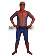 Civil War Costume 3D print Shade spandex spiderman same as movie style Zentai Halloween Party