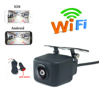APP WIFI car camera wireless video car rear view backup Camera With Cigarette Lighter Power Plug Adapter for Android IOS Device