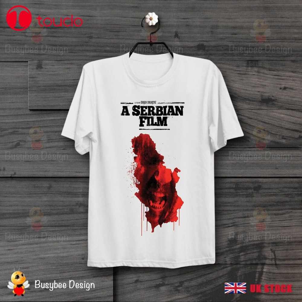 2019 Lengan O-Leher Film Serbia Film Horor Poster Sadis Bioskop Penyiksaan Kultus Unisex T Shirt Kaos Sweatshirt