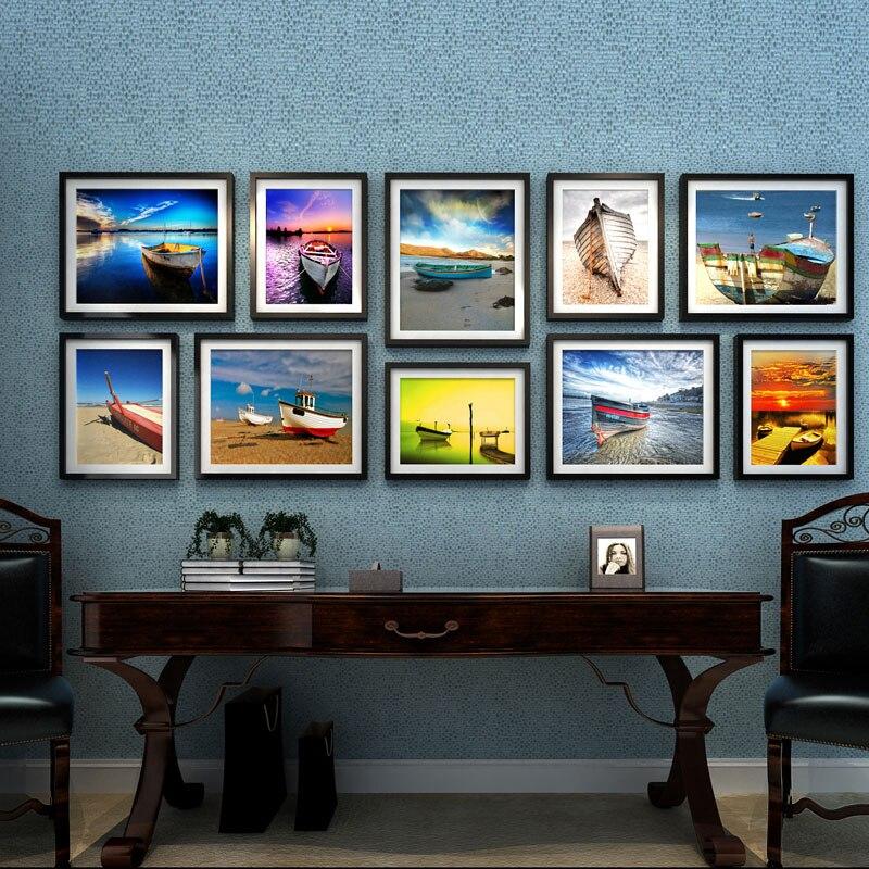 Bilderrahmen Holz Luxuriöse Bilderrahmen Wand Dekoration ...