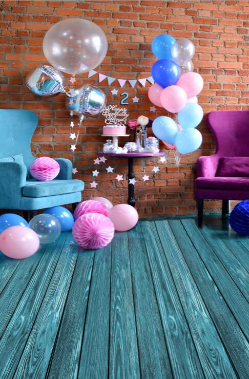Fabric birthday party backdrop balloon and paper craft photography backdrop for photo studio photography background S-2132-C fabric birthday party backdrop balloon and paper craft photography backdrop for photo studio photography background s 2132 c