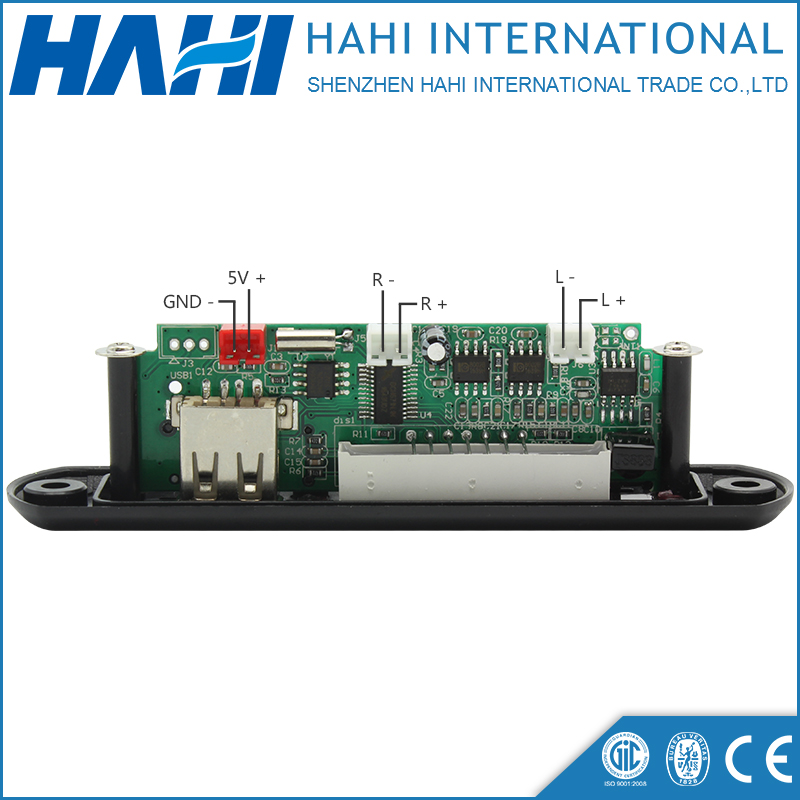 Optional SD/TF Card 5-12V Q9C MP3 Decoder Board With Power Amplifier PCBA Decoding Circuit Module Board Supporter FM/AUX/USB