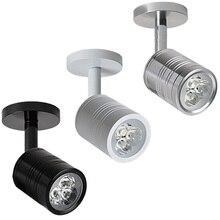 цена на 1W 3W 5W LED Wall Lamp Flexible Home Hotel Bedside Reading Lamp Wall Light Modern Fashion Book Lights Aluminum LED Bulbs 85-265V