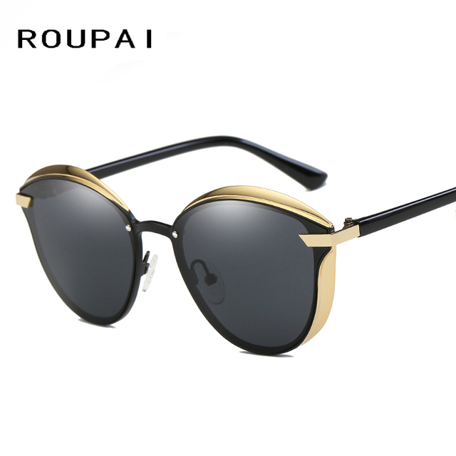 a749e82ee3cac ROUPAI 2017 New Cat Eye Vintage Style Sunglasses for Women Summer female sunglasses  New Classic Goggle Sun Glasses UV400 P0824