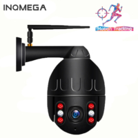 INQMEGA 1080P PTZ Speed Dome IP Camera WiFi Auto Tracking Wireless Outdoor Network CCTV Security Surveillance Waterproof Camera