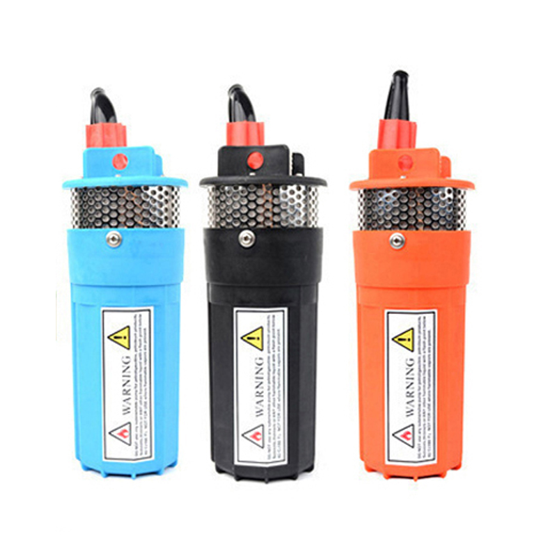 DC 12V & 24V household Submersible well pump 360LPH 70M Small Submersible Power Solar Water Pump For Outdoor Garden Deep Well 50mm 2 inch deep well submersible water pump deep well water pump 220v screw submersible water pump for home 2 inch well pump