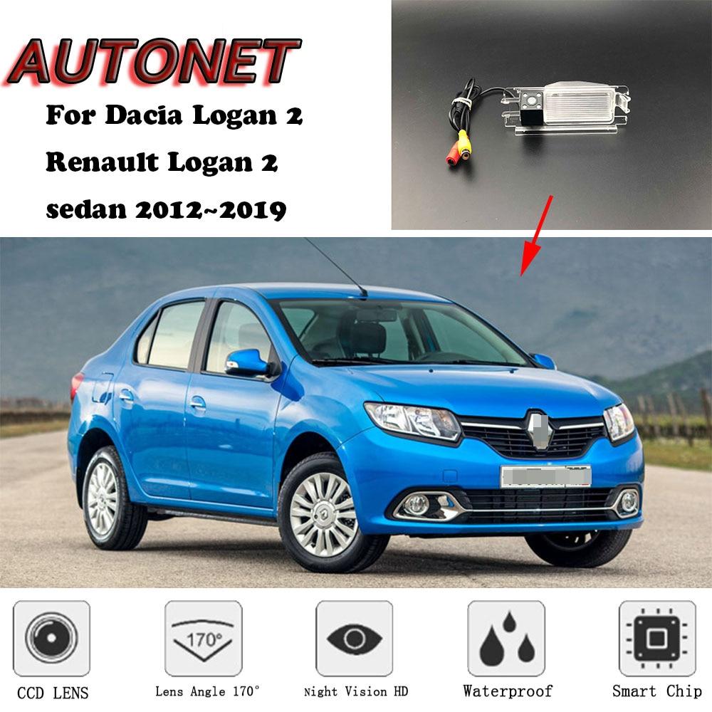 AUTONET Backup Rear View Camera For Dacia Logan 2 Renault Logan Sedan 2012~2019 /parking Camera Or Bracket
