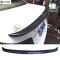 E60 5 серия карбоновое волокно заднего крыла багажника спойлер для BMW E60 520i 525i 530i body kit 05-09