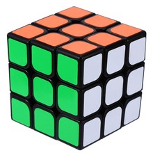 3x3x3 Three Layers Cube Puzzle Toy magic cube  Profissional Black & White Colors Neo Children Toy Puzzle Cube Free shipping