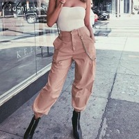City 2018 Spring New Fashion Street Wear Skinny Pants Harem Pants Casual Wide Leg Pants Loose
