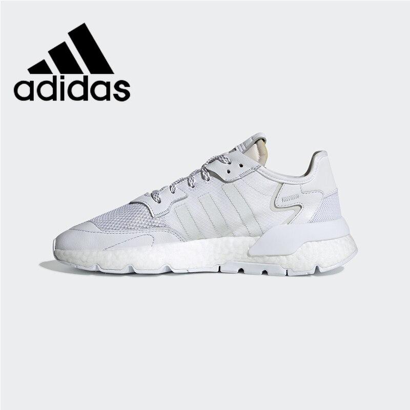 Officiel authentique Adidas Nite survêtement hommes et femmes chaussures de course chaussures de sport de plein air confortable vêtements respirants nouveau BD7676-HL