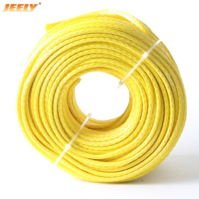 JEELY 1500M 3MM UHMWPE Hollow Braid Paraglider Towing Winch Rope
