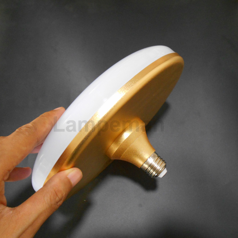 e27 LED Bulb real power LED UFO Light 12W Aluminum housing LED Lamp E27 220v 230v 240v Lampara Ampoule Lampada