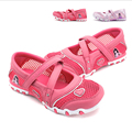 New Girls PU Leather Children Shoes Sandal Lovely Candy Casual Mesh Summer Fashion Sneakers Kids Flats Heels Little Kid Big Kid