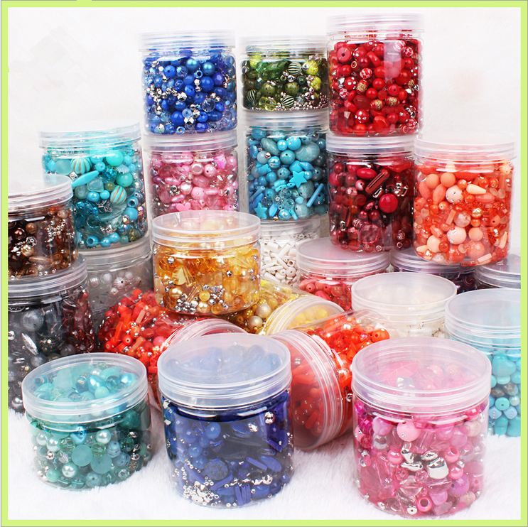 New 20g Acrylic Beads mixing Beads Style for DIY Handmade Bracelet Jewelry Making Accessories(China)