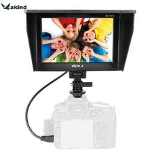 For Viltrox DC-70II 7 Inch Portable HDMI In / Out Clip-on High Definition LCD Monitor for Nikon D3100 All DSLR Camera