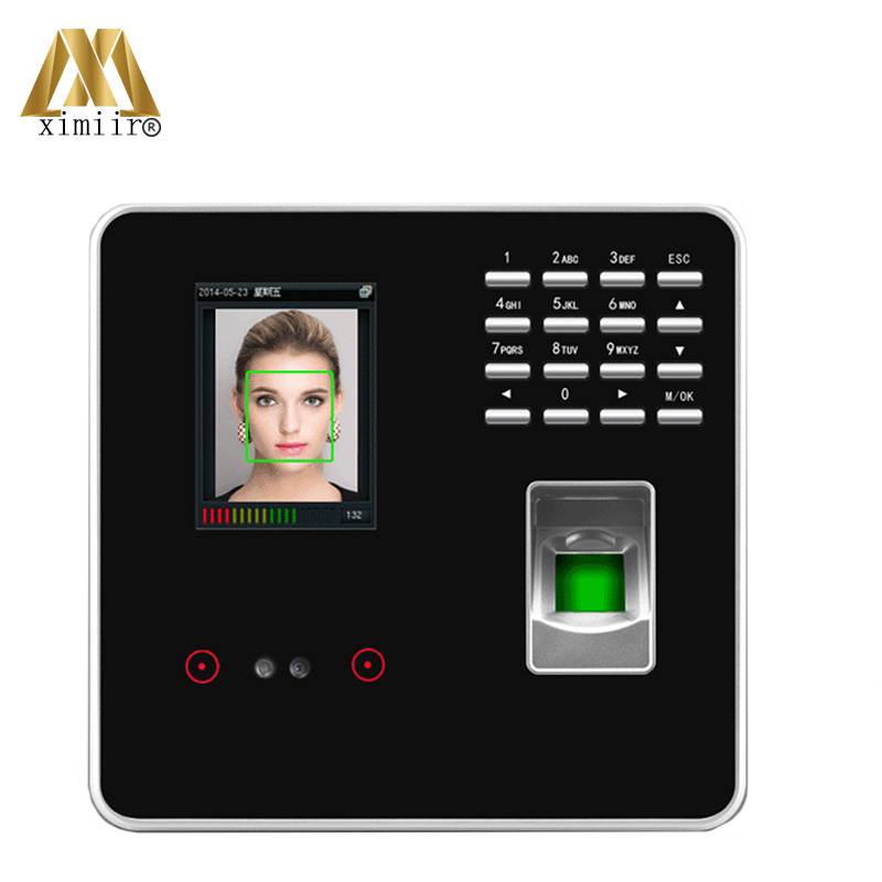 ZKteco Face /& Fingerprint Time Attendance Face Time Clock with Access control