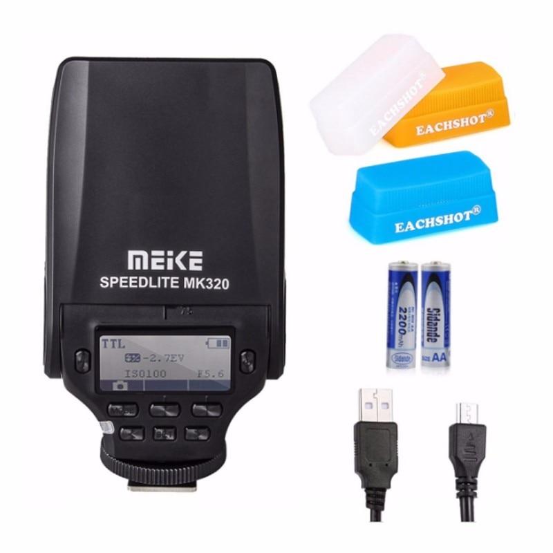 MEIKE MK-320 TTL Speedlite for FujiFilm Hot Shoe Camera X-T1 X-M1 X100s X-a1 X-e2 X100t as EF-20