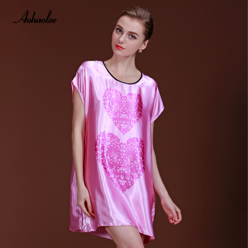 ᐂAohaolee mujeres encantadoras Camisetas de pijama dormir vestido ...