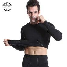 Yuerlian Add Woollen компрессионная Мужская спортивная одежда облегающая Мужская футболка фитнес-гольфы спортивные майки Demix Running мужские длинные рубашки
