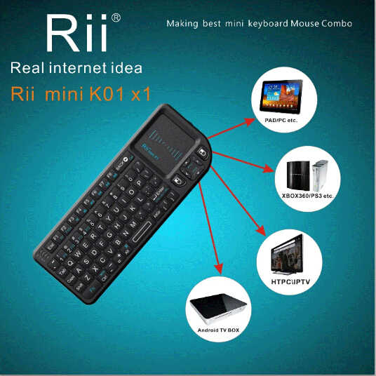 Mini Wireless Keyboard Air Mouse Keyboards 2.4G Handheld Touchpad gaming keyboard for phone smart tv box android smartphones