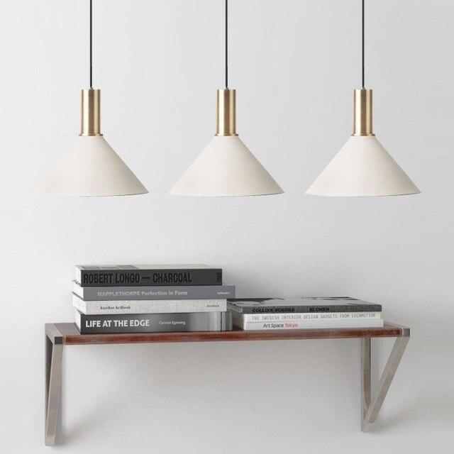 Nordic simple bar hanging lamp colored Pendant Light restaurant, bedroom, bedside lights, modern art and creative lighting 5