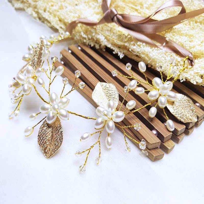 19 סגנונות אופנה קריסטל כלה כתר מצנפות אור זהב ניזר מצנפות חתונת כלה נשים שיער תכשיטי אביזרי מתנה