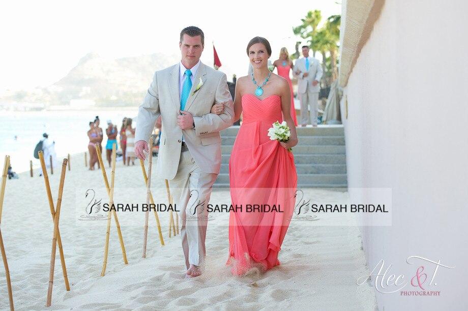 Vestidos madrina boda playa
