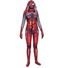 Heroine Spiderman Cosplay Tights Costume Cosplay Superhero Spiderman Venom Red Cloak Zentai Superhero Bodysuit Suit Jumpsuits