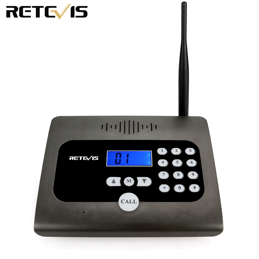 Retevis RT57 Two-way Desktop Radio Full Duplex Indoor Wireless Voice Calling Intercom System For Home Office, Room To Room