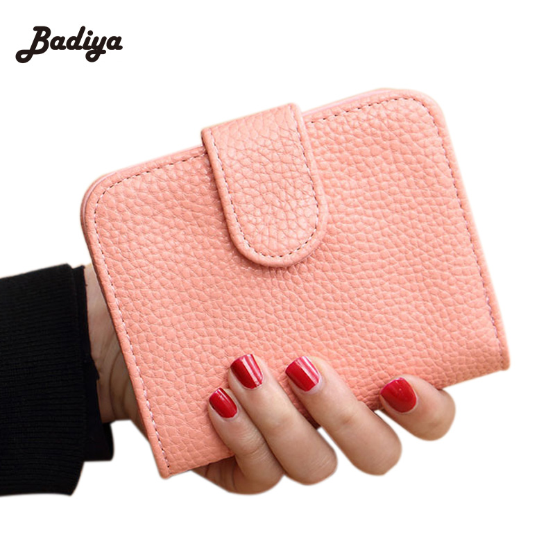 Fashion Brand Candy Color Short Wallet Women Leather Small Credit Card Holder Money Wallets Purse Bag for Female Ladies Girls replacement projector bare lamp with housing 59 j9901 cg1 for benq pb6110 pb6115 pb6120 pb6210 pb6215 pe5120