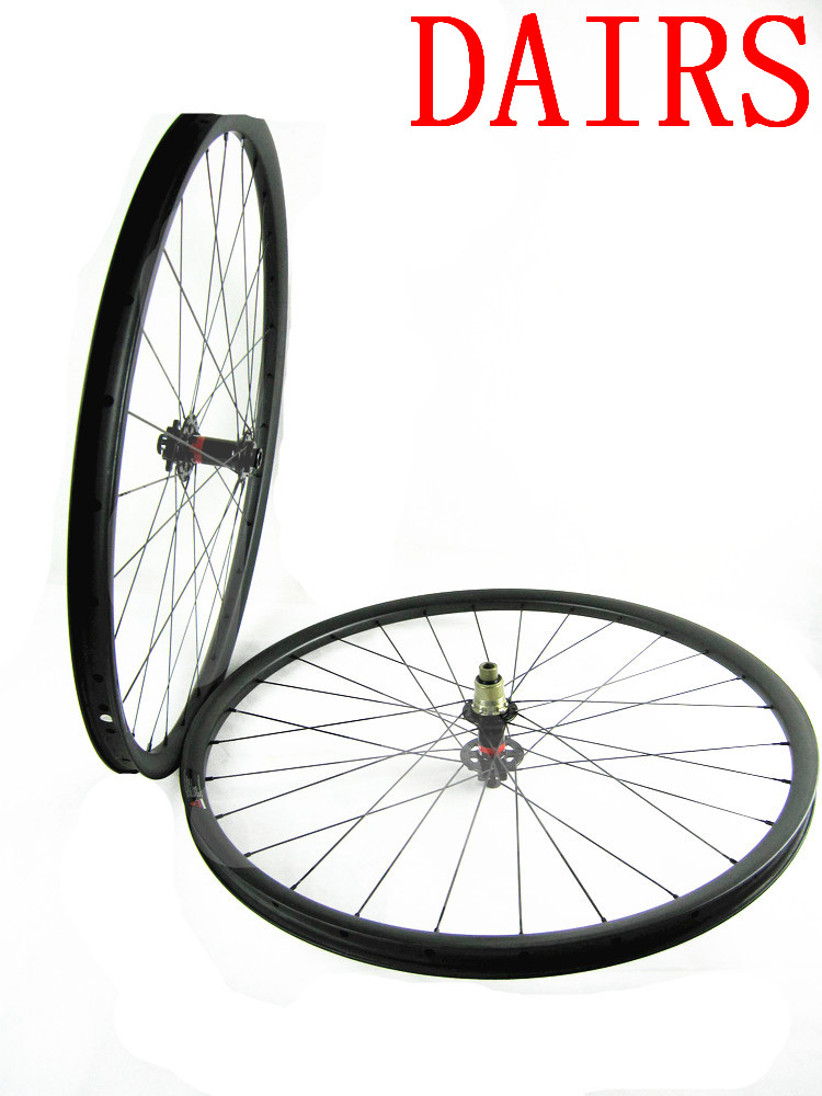 carbon MTB wheels asymmetric width 27mmMountain 29er Bike wheelset MTB bike wheels asymmetric mtb wheel 29er bicycle MTB wheels 29er carbon 3k 6 spokes wheels mountain bike six spoke wheelset 27 5 inch mtb bicycle parts 26er for sale 650b cycling component