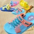 Bebê menina Sapatos Buraco Chinelos de Praia Tamancos Unissex 1-5 T Do Bebê Meninas Sandálias