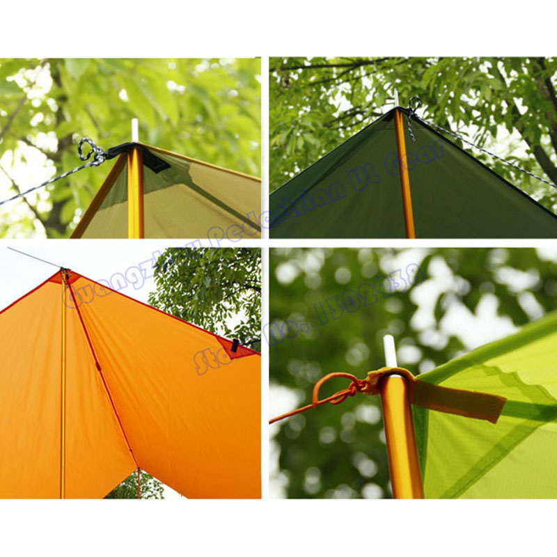 1 pair Tent Tarp Sun Shelter Awning Canopy Poles 7075 Aluminum Ultralight Adjustable Support Poles 3F UL Gear-in Sun Shelter from Sports u0026 Entertainment on ...  sc 1 st  AliExpress.com & 1 pair Tent Tarp Sun Shelter Awning Canopy Poles 7075 Aluminum ...