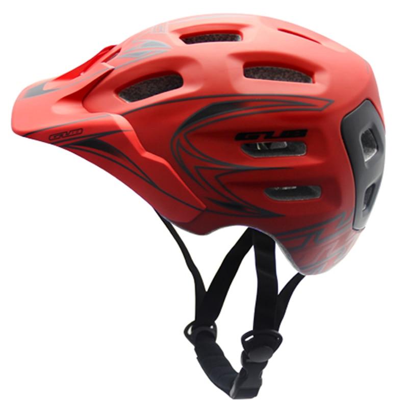 GUB Size M L Downhill Helmet XC Trail Enduro Helmet Shaped Multi Density EPS Foam Ultralight
