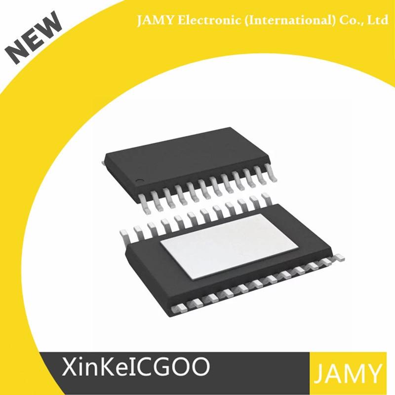 Oryginalny 10 sztuk/partia DAC8760IPWPR DAC8760 IC DAC 1CH 16BIT program 24 HTSSOP w Piloty zdalnego sterowania od Elektronika użytkowa na  Grupa 1