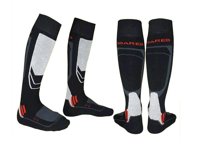Prix pour GRIMPÉ EN FLÈCHE en plein air équitation épais coton chaussettes chaud et confortable serviette bas hommes de Ski Chaussettes Une paire