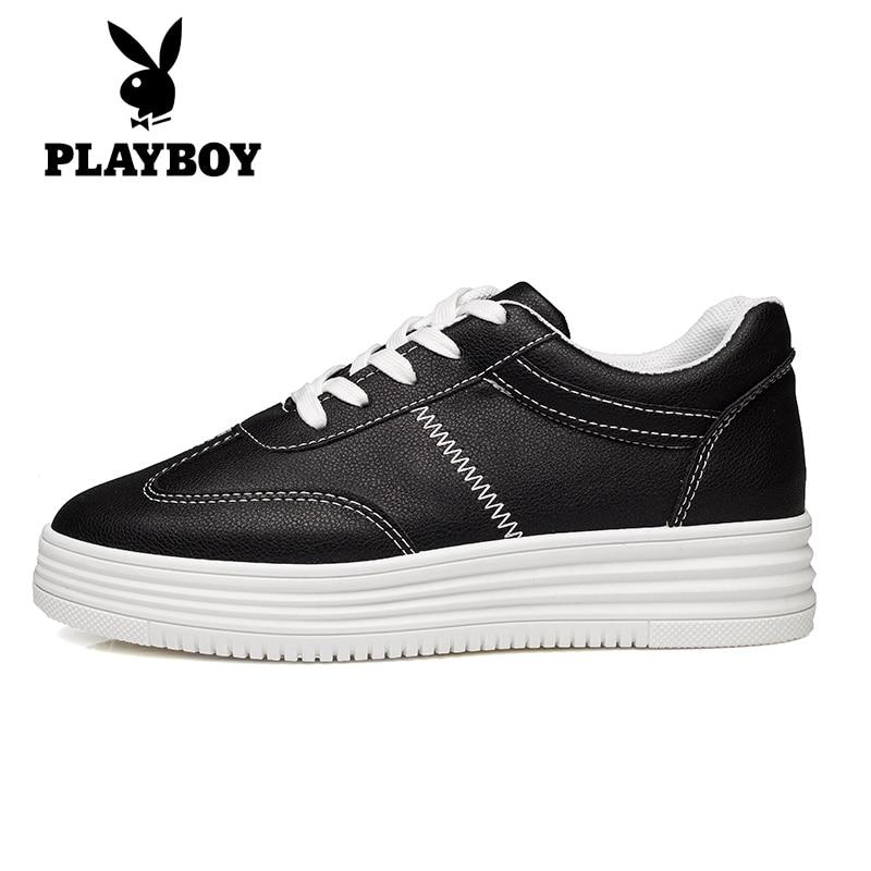 ФОТО Women's Spring 2017 Black White Flats Platform Fashion Light Work Office Casual Travel Walk Lady Girl Flats Shoes