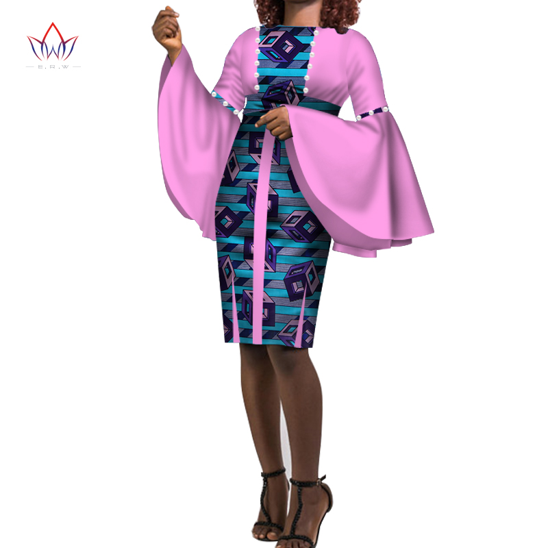 Dresses Plus Size Women Fashion Dress Xl African Ankara Dresses For Women Dashiki Women Traditional African Clothing Wy