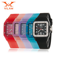50M Waterproof Sports Watches Men Women Colorful Jelly Watch For Quartz Watch New Newest Fashion Brand
