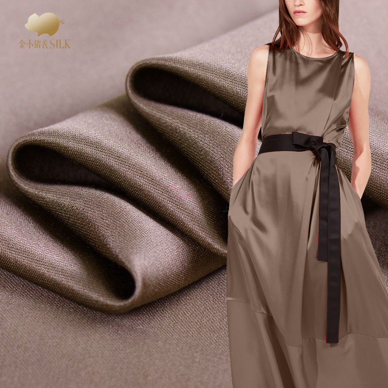 Solid color drape supple high end fashion linen fabric clothing custom fabric natural linen fabric wholesale