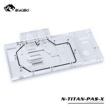 Uso do bloco de água de bykski para nvidia gtx titan xp/x-pascal/gtx1070/1080/1080ti fundador/edição de referência/bloco de cobertura completo rgb