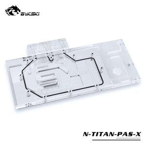 Bykski wykorzystanie bloku wodnego dla NVIDIA GTX TITAN XP/x-pascal/GTX1070/1080/1080TI założyciel/edycja referencyjna/pełna pokrywa bloku RGB