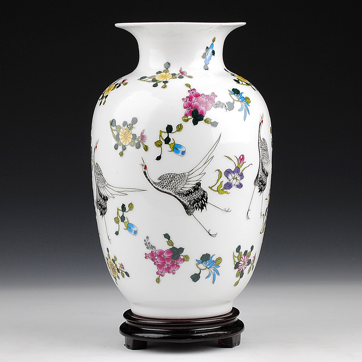 online buy wholesale modern vase and gift from china modern vase  - jingdezhen hongxuan features luminous ceramic vase decoration modernfashion crafts furniture and ornaments gifts(china