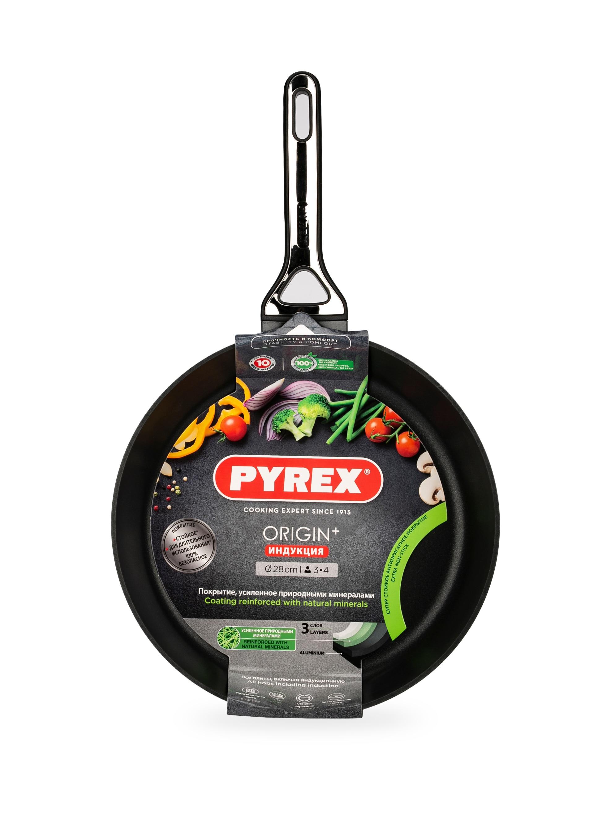купить Сковорода Pyrex ORIGIN 28 см индукция недорого