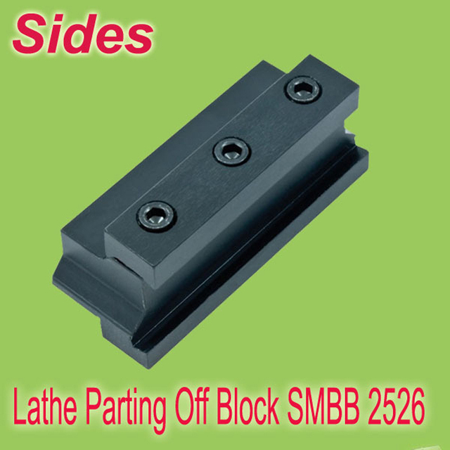 Free Shiping  SMBB 2526  Part Off  Block Indexable Parting Off Tool Stand Holder 25mm High Blade 26mm Tool Post  For Lathe