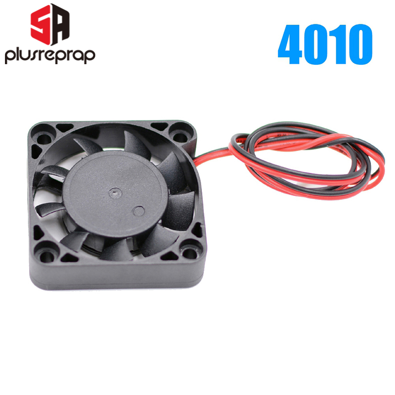 1 PC DC12V/24V 4010 Sleeve Or Dual Ball Bearing Cooling Fan 1.5 X 1.5 Inches For 3D Printer J-head Hotend