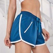New 2019 Women Girls Shorts Summer Slim Beach Casual White Egde Shorts Hot Pocket girls pocket side flower print shorts