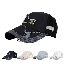 Summer Golf Baseball Mesh Cap Adjustable Sports Sun Visor Hat Unisex fishing Cap(China)